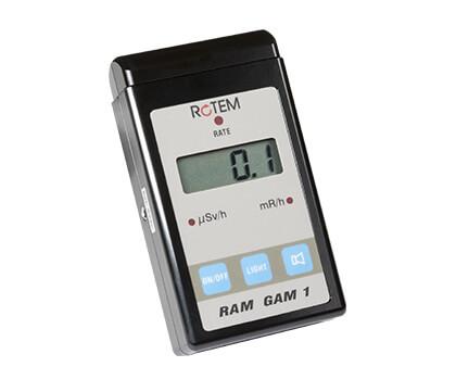 Přenosný operativní měřič dávkového příkonu RAM-GAM
