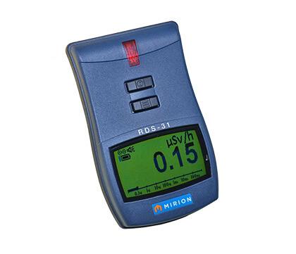 Přenosný operativní měřič dávkového příkonu RDS-31